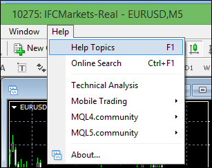 MetaTrader 4 User Guide | IFCM