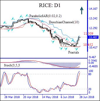 Rice price