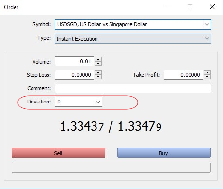 MetaTrader 5 - How to avoid a requote